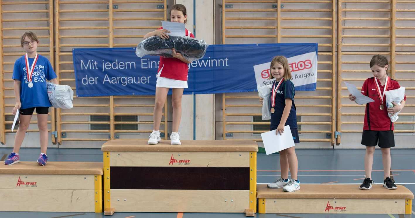 201706 School Trophy 2017 Podium U9 Filles